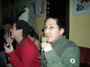 Drinking Absinthe