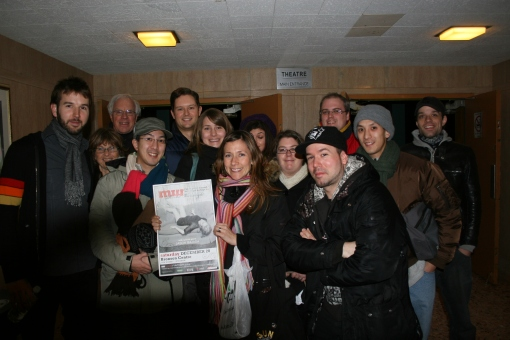 After the Martha Wainwright concert with Amanda Putz and CBC Radio 3 Ottawa Fans