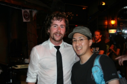 With Casey of Elliott Brood