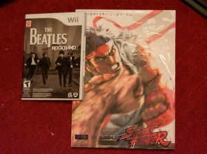 The Beatles Rock Band and SF20: The Art of Street Fighter