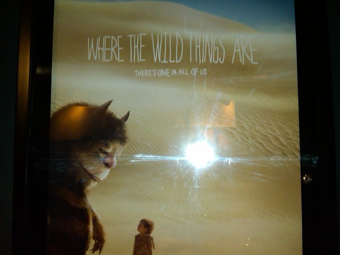Where The Wild Things Are Poster at South Keys Cineplex Odeon
