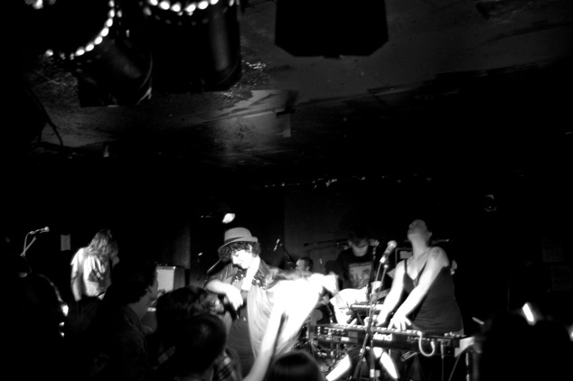 You Say Party! We Say Die! at Babylon [B&W]