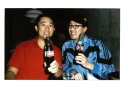 With Geoff at El Camino Instax