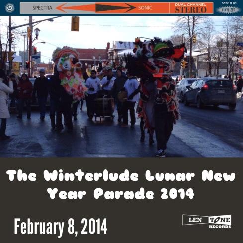 CNY Parade Vinyl 2014