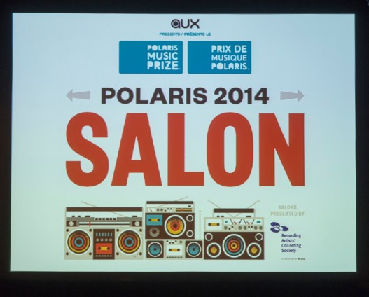 Polaris 2014 Salon SIgn
