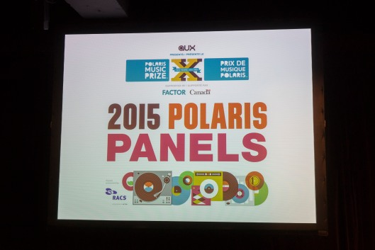 2015 Polaris Prize Panel Main