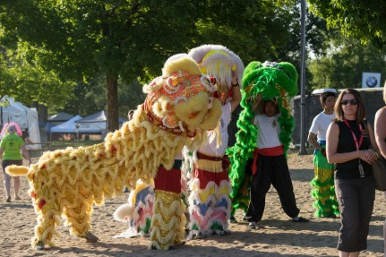 Lion Dance at 2016 Ottawa Dragon Boat Festival-1